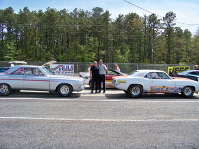 Atco Auto Racing on Plymouth And Ron Infantino Of Nutley  Nj In The Camaro